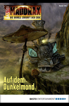Maddrax 440 Auf dem Dunkelmond, Wolf Binder, Steampunk-Lok