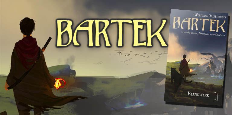 Bartek, Fantasy, Magie, Schwert, verfallene Stadt, Gwelismar, Cover