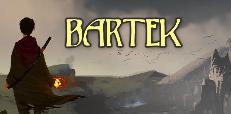 Bartek, Fantasy, Magie, Schwert, verfallene Stadt, Gwelismar